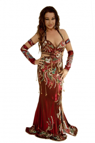 Cabaret dresses for belly dance