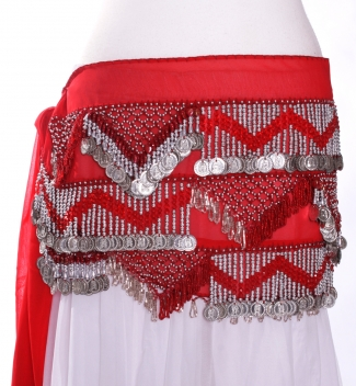 Chiffon rectangle - belly dance belts