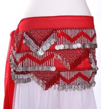 Chiffon rectangle - belly dance belts
