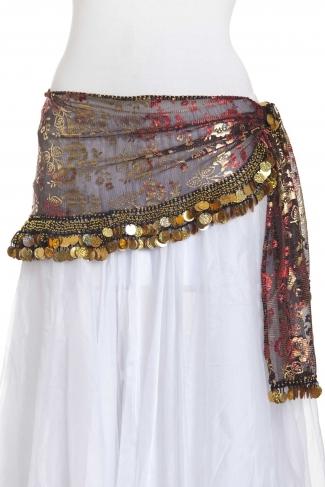 Funky iridescent - belly dance belts
