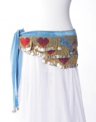 Heart belts - belly dance belts