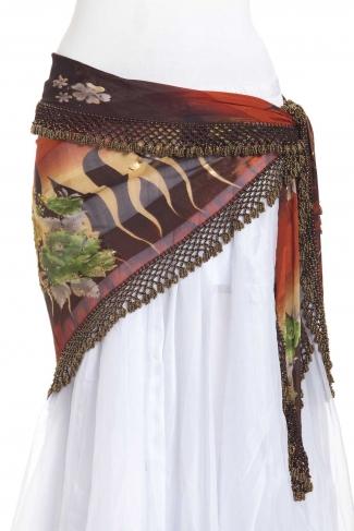 Large crocheted edge - belly dance belts