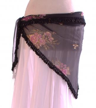 Medium crocheted edge - belly dance belts