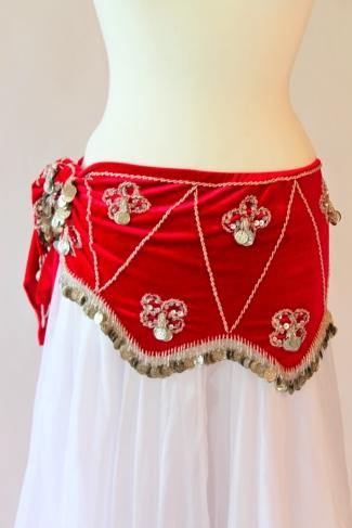 Velvet belts - belly dance belts