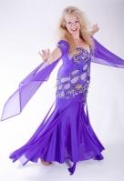 Belly dance cabaret dress - Dream Catcher