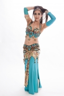 Belly dance cabaret costume - Egyptian Grace
