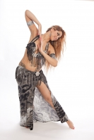 Belly dance cabaret costume - She Wolf