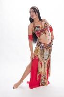 Belly dance cabaret costume - Pharaoh's Lust