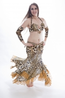 Belly dance cabaret costume - Fabulous Feline
