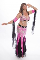 Belly dance cabaret costume -  Naughty and Nice