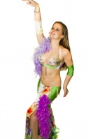Belly dance cabaret costume - Featherlicious