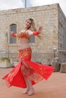 Belly dance cabaret costume - Royal Lightening