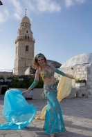 Belly dance cabaret costume - Imperial Highness