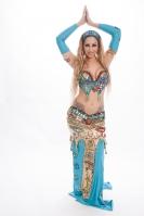 Belly dance cabaret costume - Pharoah's Princess