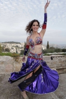 Belly dance cabaret costume - Temptation