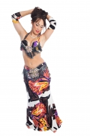 Belly dance cabaret costume - Sayana Butterfly