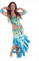 Belly dance cabaret costume - J'adore Fleur