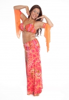 Belly dance cabaret costume - Arabian Princess