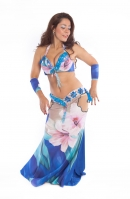 Belly dance cabaret costume - Lilly