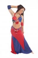 Belly dance cabaret costume - Miss United Kingdom