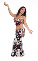 Belly dance cabaret costume - Moonlight Delight