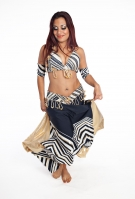 Belly dance cabaret costume - Forbidden Treasure