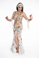 Belly dance cabaret costume - Magical Light