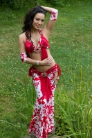 Belly dance cabaret costume - Art In Motion