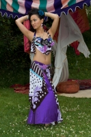 Belly dance cabaret costume - Funky Fanatsy