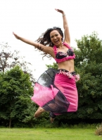 Belly dance cabaret costume - Dotty Darling