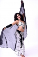 Belly dance cabaret costume - Cruella de Lovely