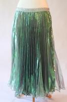 Belly dance pleated skirt - Mermaid Lagoon
