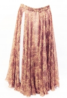 Belly dance fine silk chiffon skirt - Catalicious
