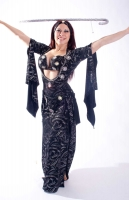 Belly dance special sa'idi dress/galabia - Sizzlin' Sa'idi!