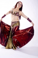 Couture belly dance costume - Regal Riot
