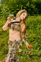 Eman for Brighton Orient Belly dance couture costume - Eden