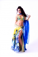 Eman Zaki for Brighton Orient Belly dance couture costume - Life