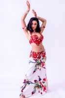 Eman for Brighton Orient Belly dance couture costume - Delight