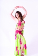 Hallah for Brighton Orient Belly dance couture costume- Vitalità