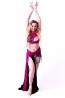Hallah for Brighton Orient Belly dance couture costume - Frivoli