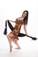 Maleya dress for belly dance