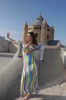 Special sa'idi dress/galabia - Stripe Tease