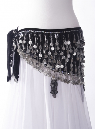 Belly dance 'tribaret' belt