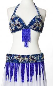 Belly dance bra and belt set - Jubilee!