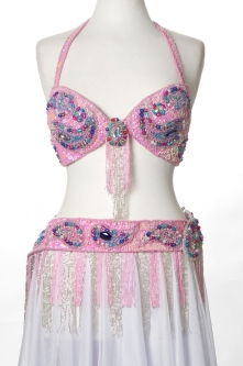 Belly dance bra and belt set - Ultimate Sweetheart