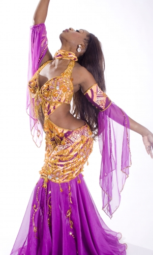 Belly dance cabaret costume - Nairobi Nights 2!