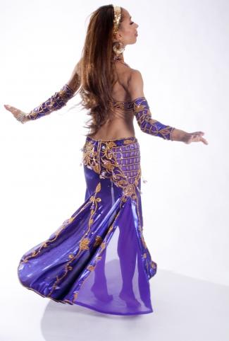 Belly dance cabaret costume - Promises