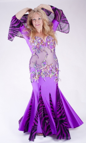 Belly dance cabaret dress - Headliner!