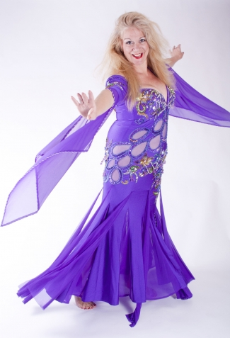 Belly dance cabaret dress - Dream Catcher