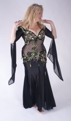 Belly dance cabaret dress - In Vogue